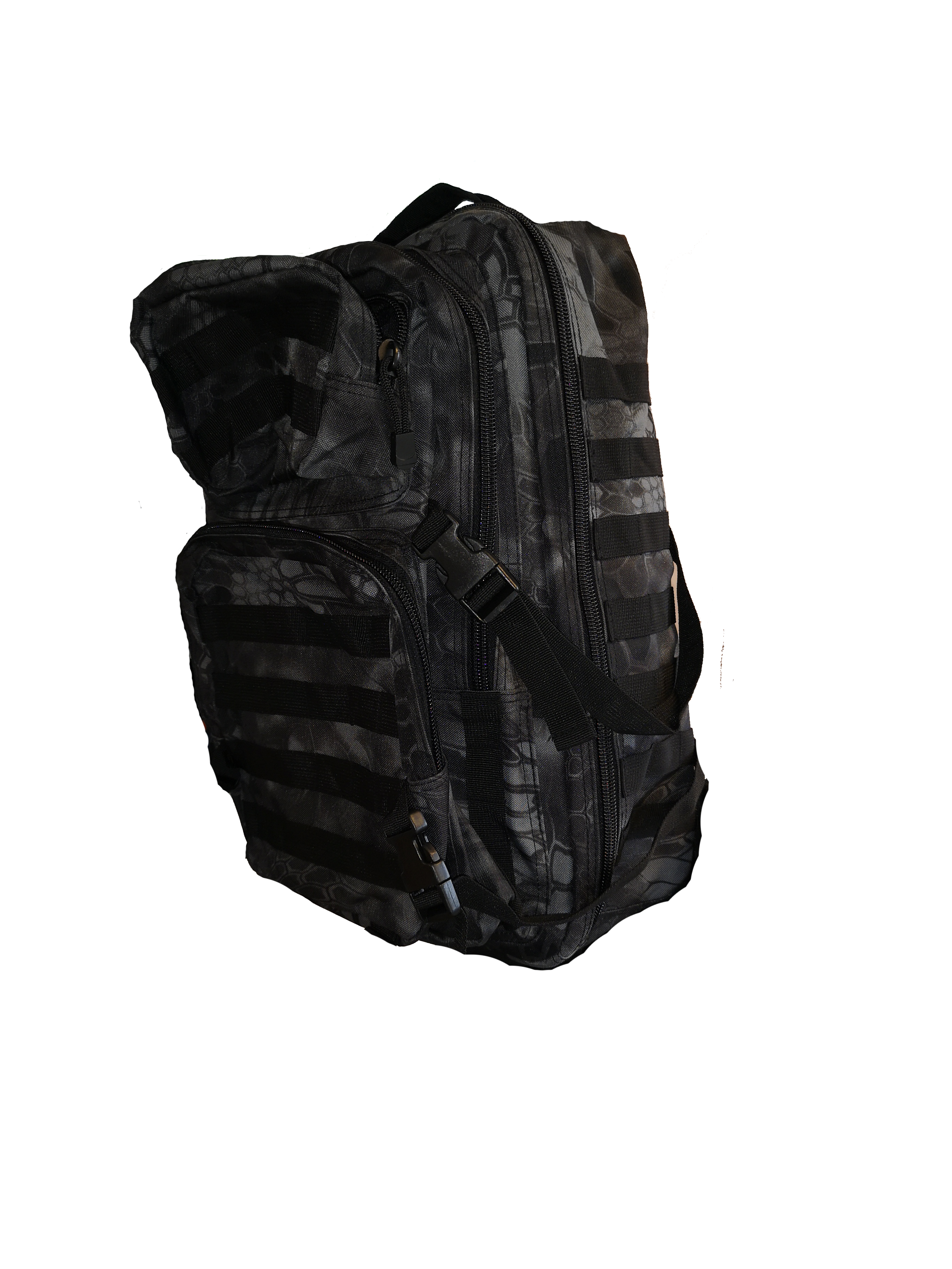 MOUNTAIN BACKPACK RYGSÆK NIGHT CAMO 45L by 101INC